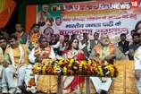 VIDEO : हेमा मालिनी ने बीजेपी प्रत्याशियों के लिए मांगा वोट