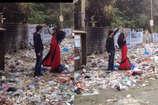 OMG! कचरे के बीच प्री-वेडिंग शूट, सोशल मीडिया पर हुआ वायरल