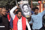 मेरठः क्षत्रिय समाज ने 'पद्मावत' की रिलीज के विरोध में भंसाली का पुतला फूंका