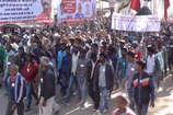 VIDEO: लोहरदगा में हजारों आदिवासियों ने किया पैदल मार्च