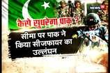 VIDEO: पाकिस्तान ने फिर तोड़ा संघर्ष विराम