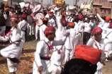 संत खेतेश्वर मंदिर के स्थापना दिवस पर निकली शोभा यात्रा