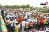 VIDEO: मतदाओं को जागरूक करने के लिए जयपुर ने लगाई दौड़