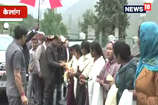 VIDEO: सीएम जयराम ठाकुर का सिस्सू गांव में जोरदार स्वागत