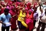 बीकानेर में रामपुरा के लोगों ने सड़क बनाने के लिए किया प्रदर्शन