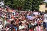 VIDEO:सरकार की जनविरोधी नीतियों के खिलाफ विरोध जुलूस