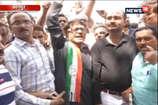 VIDEO: CM योगी के आने से पहले कांग्रेसियों ने दिखाए काले झंडे, पुलिस ने किया अरेस्ट