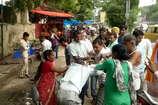 अलवर में अस्पताल के बाहर मारपीट का VIDEO वायरल