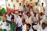 सिंचाई के लिए पानी को लेकर 4 किसानों ने शुरू की भूख हड़ताल