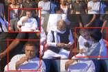 रोड शो के दौरान चाय की चुस्की लेते नजर आए राहुल गांधी