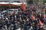 VIDEO: चुनाव प्रचार थमने से पहले बीजेपी का शक्ति प्रदर्शन, दून में निकाली स्कूटर रैली