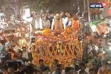 VIDEO: अमित शाह के रोड शो में शामिल हुए बृजमोहन, मूणत, श्रीचंद और नंदे साहू