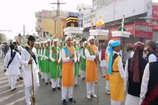 ईद-मिलादुन्नबी पर्व के जुलुस में इस्लामिक झंड़े के साथ तिरंगा भी
