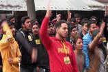 VIDEO: सरकार के खिलाफ ABVP ने की नारेबाजी, कॉलेज, और लाइब्रेरी की मांग उठाई