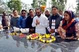 गुरुग्राम : बॉलीवुड स्टार सैफ अली खान ने शहीद कैप्टन कुंडू को दी श्रद्धांजलि