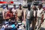 अररिया- नेपाल सीमा पर 10 लाख रुपए की नेपाली करेंसी के साथ दो कारोबारी गिरफ्तार
