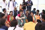 दुमदमा घाट पर प्रियंका गांधी बोलीं: मेरे भाई राहुल गांधी जो बोलते हैं, वह करते हैं.