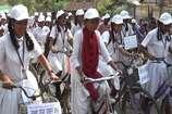 VIDEO : बच्चों ने साइकिल रैली निकाल बड़ों से की वोट जरूर देने की अपील