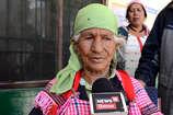 VIDEO: मनाली में 95 वर्षीय भेखी देवी ने डाला मत, दूल्हों ने भी डाले वोट