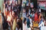 खरगोन में मोदी को फिर पीएम बनाने लिए हो रहा अनुष्ठान तो इंदौर में राहुल के लिए यज्ञ