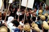 विकास चौधरी मर्डर केस: तंवर समर्थकों और पुलिस के बीच झड़प