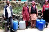 कुल्लू के गांवों में 4 माह से नहीं मिल रहा पीने का पानी