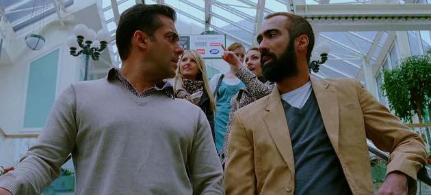 इस फिल्म में सलमान खान और कटरीना कैफ चार साल के बाद रूपहले पर्दे एक साथ दिखाई देंगे।