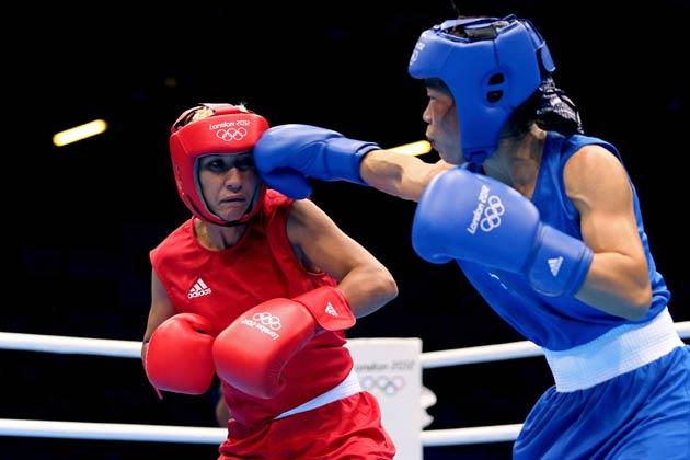 इस तरह पांच बार की विश्व चैम्पियन मेरीकॉम ने भारत के नाम कम से कम एक कांस्य पदक पक्का कर दिया।