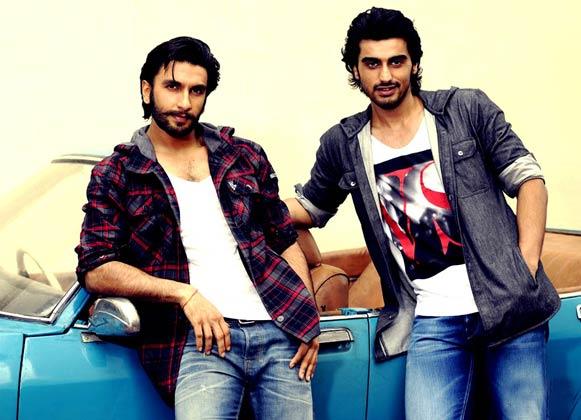 रणबीर सिंह और अर्जुन कपूर।
