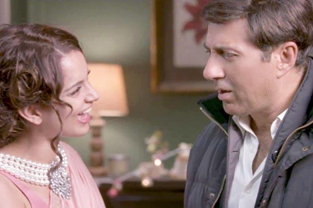 विनय सप्रू और राधिका रॉव द्वारा निर्देशित 'आई लव न्यू ईयर' में सनी के साथ अभिनेत्री कंगना राणाउत ने अभिनय किया है।