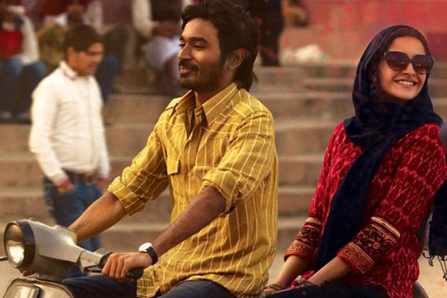 बनारस और दिल्ली में बनी प्रेम कहानी रांझना ने बॉक्स ऑफिस पर कामयाबी के झंडे गाड़े।