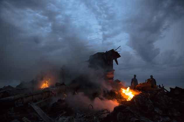 रूसी न्यूज एजेंसी इंटरफैक्स की रिपोर्ट के मुताबिक ये विमान रूस की वायु सीमा से 50 किलोमीटर पहले पूर्वी यूक्रेन में दुर्घटनाग्रस्त हुआ। रिपोर्ट में कहा गया है कि विमान पूर्वी यूक्रेन के दोनेत्स्क और लुहांस्क शहरों के बीच गिरा।
