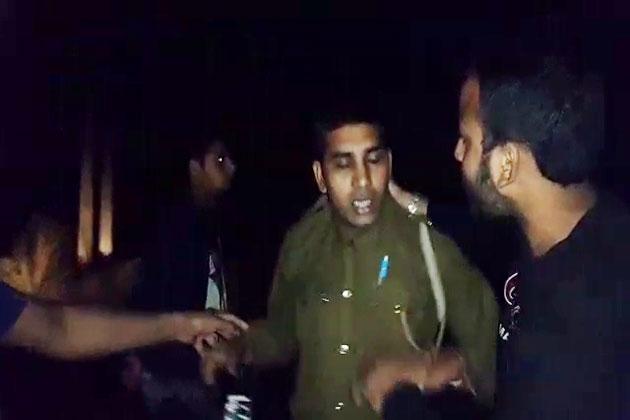 वीडियो सामने आने के बाद चंडीगढ़ पुलिस के अधिकारी भी हरकत में आ गए हैं।
