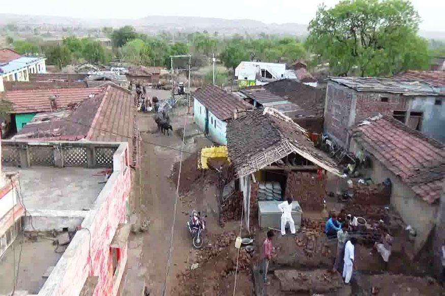 यह है मध्यप्रदेश का आमला गांव. फोटो: न्यूज18