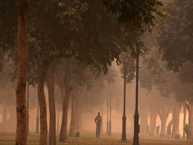 पिछले दो दिनों से दिल्ली में कई जगहों पर हवा की गुणवत्ता बेहद खराब हो चुकी है. यहां पर पीएम 2.5 की मात्रा 5 गुना तक अधिक हो गई है.