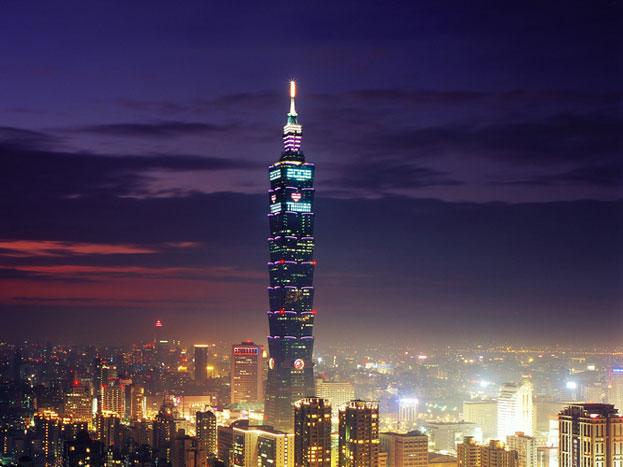 ताइपे 101: यह इमारत ताइवान में है. 1,667 फीट ऊंची इस बिल्डिंग का निर्माण 2004 में हुआ था.