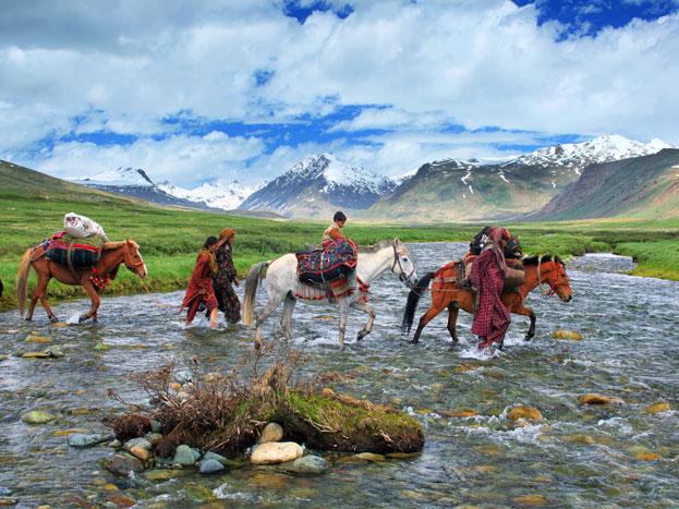 देओसई प्लेंस: पश्चिम हिमालय और काराकोरम में स्थित देओसई प्लेंस एक खूबसूरत प्लेस है. यह समुद्री तट से तकरीबन 4000 मीटर की ऊंचाई पर है. यह तकरीबन 8 महीने बर्फ से ढकीं रहती है. यहां शेओसर झील बहुत ही सुंदर है. पहाड़ों की वादियां यहां किसी जन्नत से कम नहीं. (Photo: Pixabay.com)