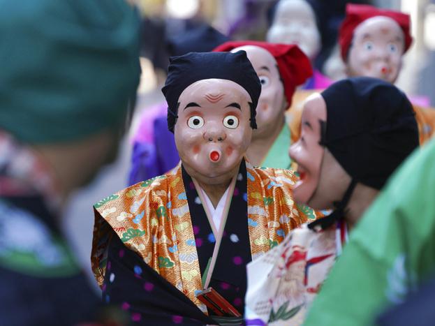 जापान में पहला 'कॉनपिरा फेस्टिवल' का आयोजन किया गया.<strong>(image credit: AP)</strong>
