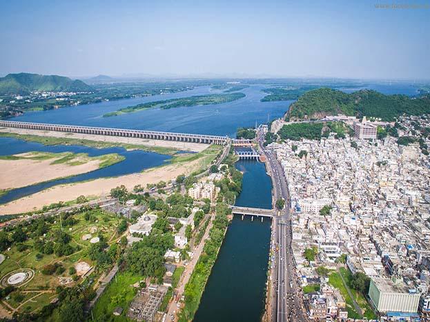 फोटोग्राफरों के लिए स्वर्ग जैसा-ये आंध्र प्रदेश का गुंटूर शहर है.<strong>(Image: Aurobird/dronestagram)</strong>