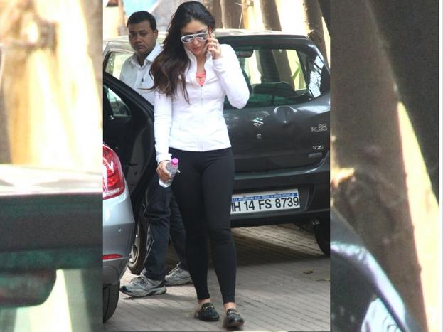 जिम जाते हुए इस अंदाज में दिखीं करीना कपूर खान
