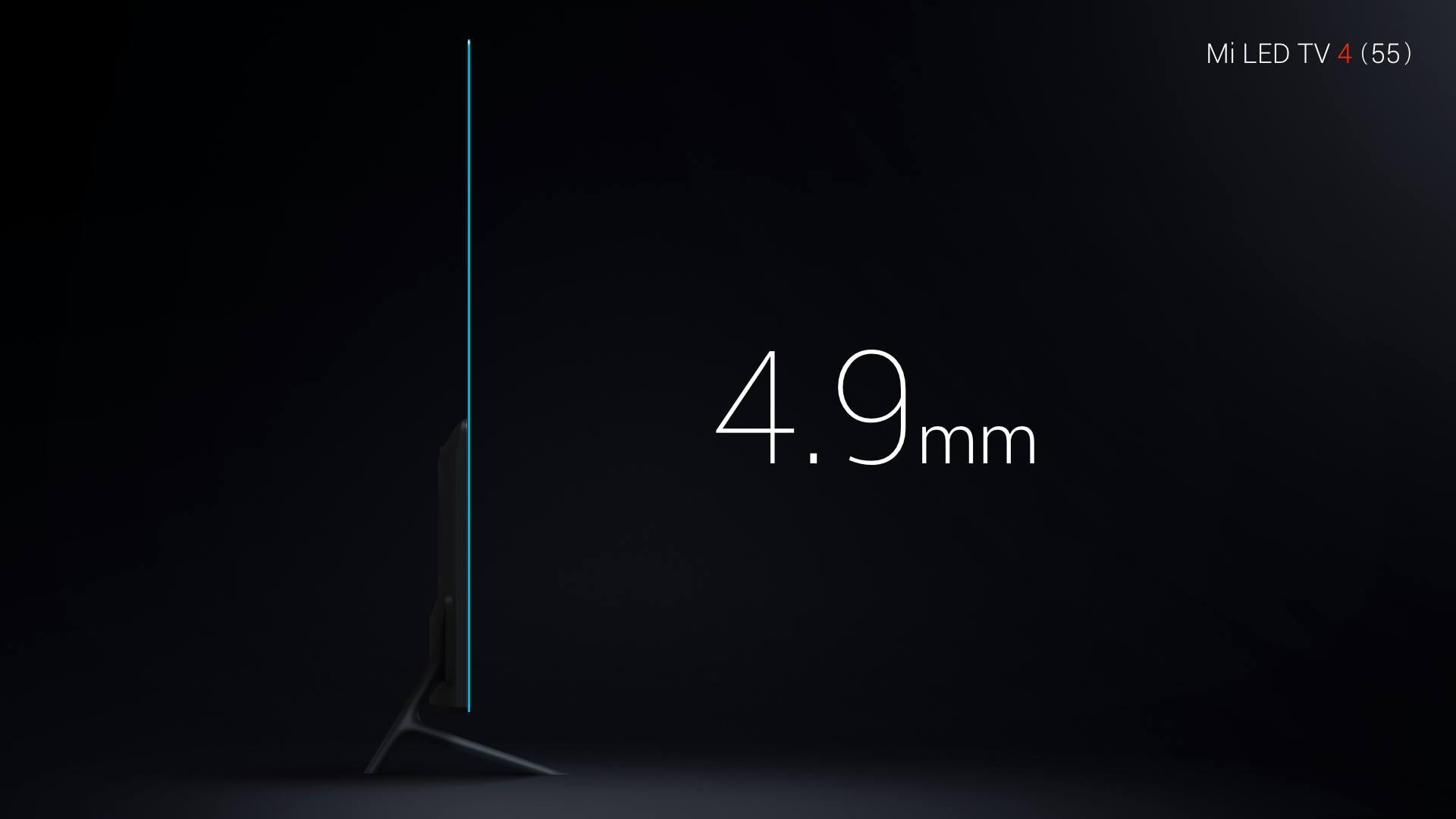 इस टीवी की थिकनेस महज 4.9mm है.