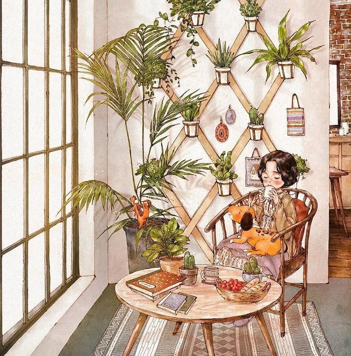 प्रकृति को पसंद करने वाले अपने घर के कोने में हरियाली का माहौल बनाकर वहां चाय या कॉफी की चुस्की लेकर खुद को समय दे सकते हैं.