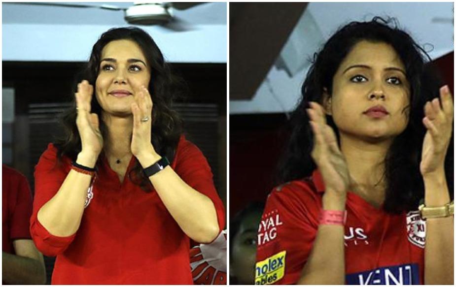 आजकल आईपीएल में प्रीति जिंटा के साथ टीम के कप्तान आर अश्विन की पत्नी प्रीति नारायण भी अकसर नजर आती हैं.