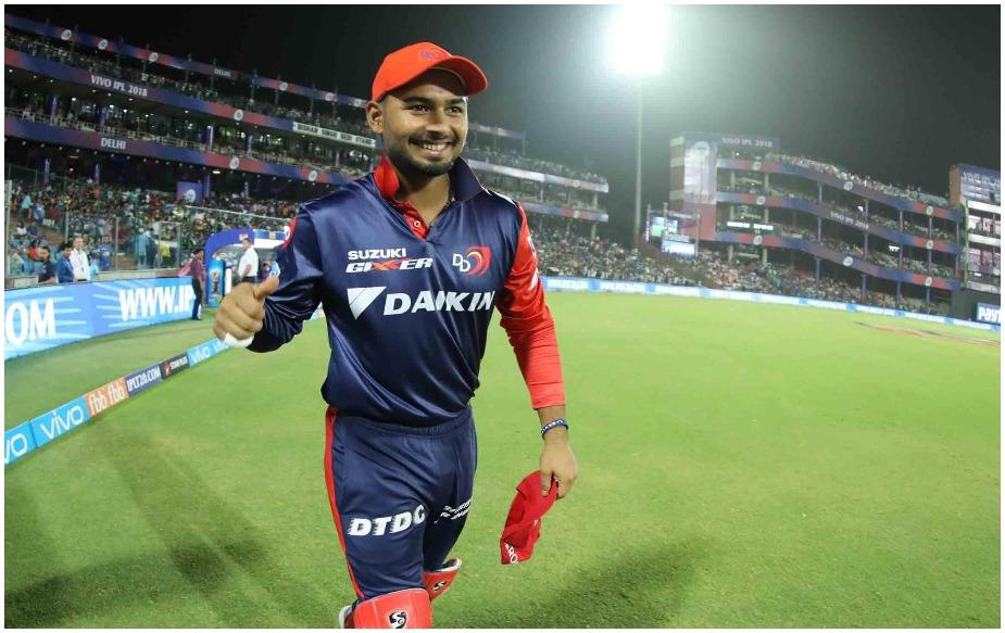 20 साल के पंत ने आईपीएल में अब तक कुल 37 मैच खेले हैं, जिसमें उन्होंने 34.82 के औसत से 1184 रन बनाए हैं. वह एक शतक और सात अर्धशतक लगा चुके हैं.