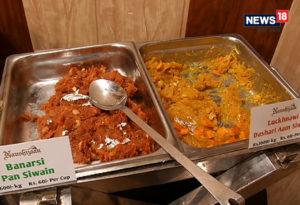 सेवई में कई स्वाद शामिल किए हैं. जैसे लखनऊ के दशहरी आम सेवई और बनारसी पान सेवई. Photo: News 18