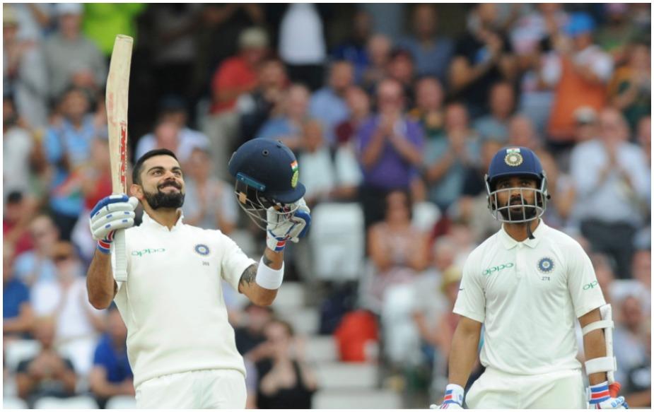 नॉटिंघम टेस्ट में विराट कोहली ने दोनों पारियों ( 97 व 103 रन) में 200 रन बनाए. ऐसा उन्होंने 12वीं बार किया है. जबकि रिकॉर्ड कुमार संगाकारा ने नाम है. संगाकारा ने ऐसा 17 बार किया था. इसके अलावा ब्रायन लारा ने 15, डॉन ब्रैडमैन ने 14 और रिकी पोंटिंग ने 13 बार ऐसा किया है.