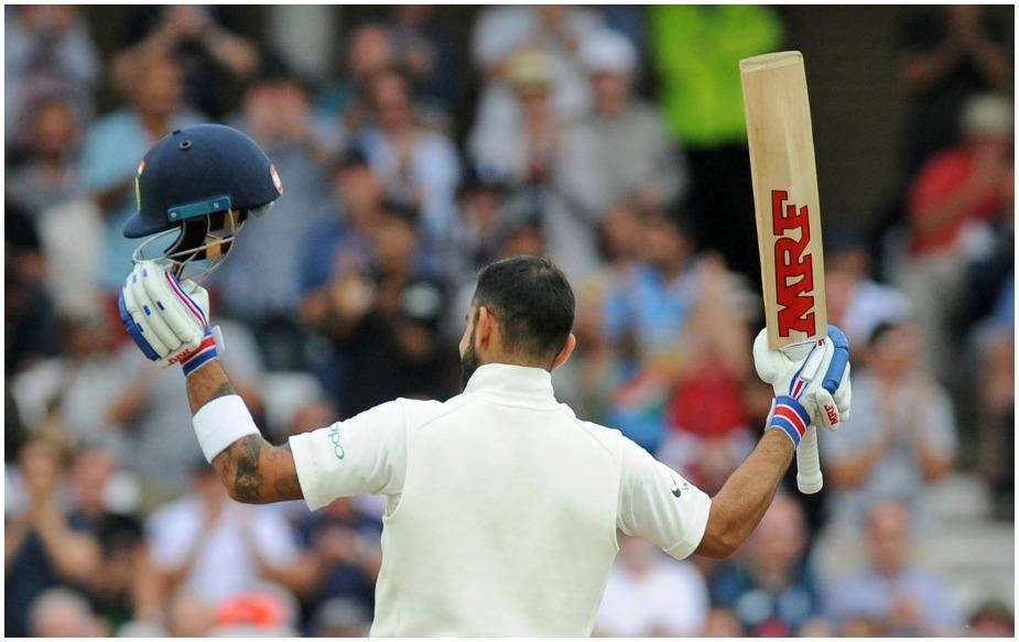 विराट का ये 23वां टेस्ट शतक, जो उन्होंने 69 टेस्ट मैचों की 118 पारियों में लगाया है. इंग्लैंड के खिलाफ इंग्लैंड में दूसरा और कुल पांचवां शतक है. जबकि बतौर कप्तान उन्होंने 16वां टेस्ट शतक लगाया है. यही नहीं, विराट कोहली ने नंबर चार पर बल्लेबाज़ी करते हुए 19वां शतक ठोका है.