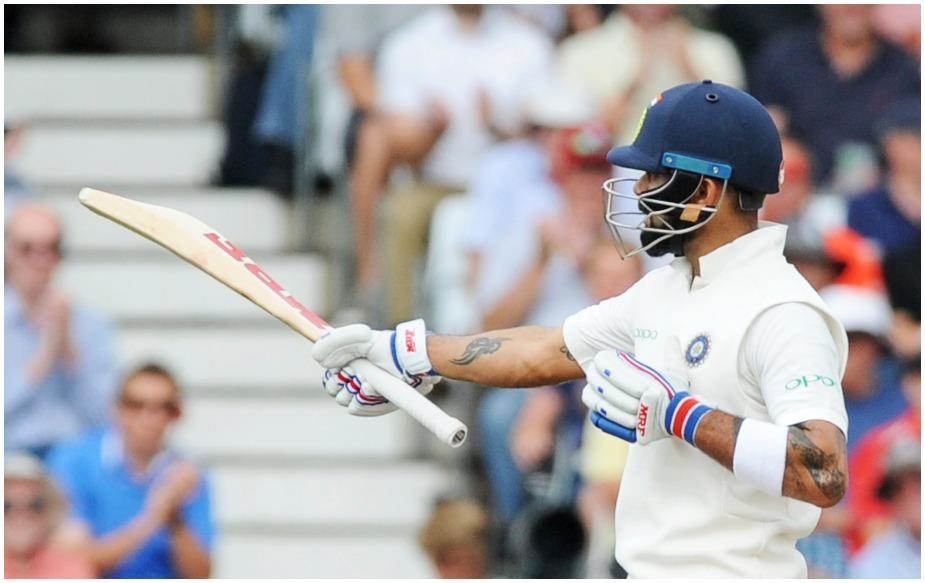विराट कोहली ने इंग्लैंड के दौरे पर टेस्ट सीरीज में अब तक 440 रन अपने नाम कर लिए हैं. इससे पहले यह रिकॉर्ड मोहम्मद अजहरुद्दीन के नाम था, जिन्होंने 1990 में 426 रन बनाए थे. विराट 440 रन बनाने वाले इकलौते एशियाई कप्तान हैं.