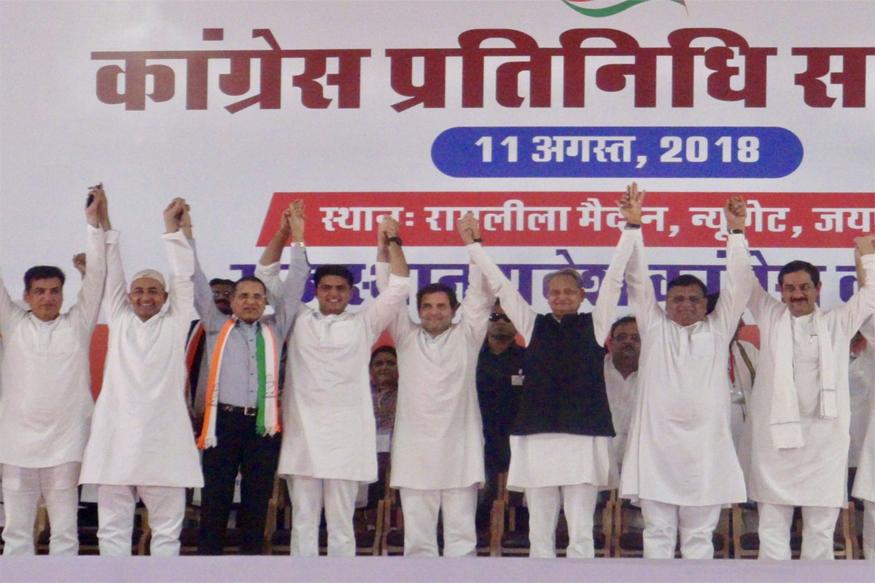 rahul gandhi in jaipur, rahul gandhi jaipur road show, rajasthan congress, 2019 general elections, rajasthan assembly election 2018