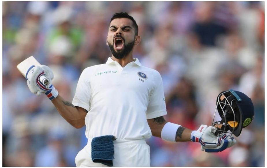 इंग्लैंड के खिलाफ नॉटिंघम में विराट कोहली ने 197 गेंदों पर दस चौकों की सहायता से 103 रन की दमदार पारी खेली. यह बतौर कप्तान विराट का 129 पारियों में 29वां इंटरनेशनल शतक है. जबकि उन्होंने बतौर बल्लेबाज़ 250 पारियों में 29 शतक लगाए हैं. यानि उन्होंने अब तक क्रिकेट के तीनों फॉर्मेट्स में 379 पारियों में 58 शतक ठोके हैं.